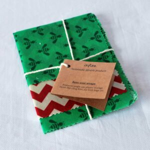 Sustainable Home gift set  – Beeswax wraps, home wipes and more