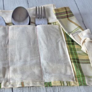 zero waste cutlery pouch eco friendly