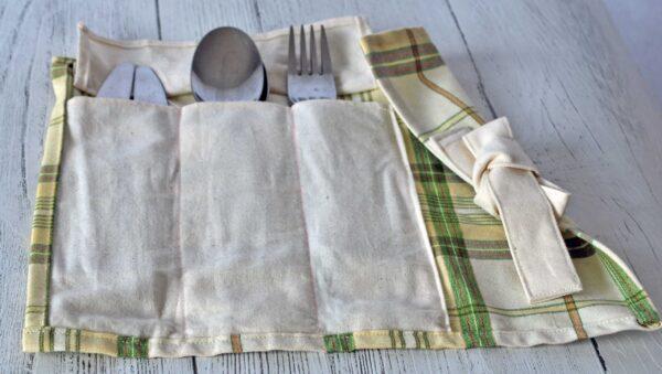 zero waste cutlery pouch eco friendly