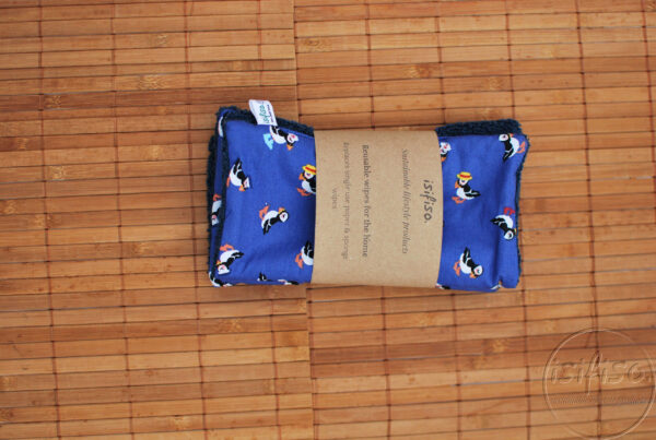 Toucan print home wipes packaged zoomed out