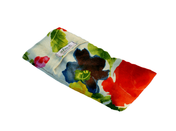 watercolor flowers print lavender eye masks eco friendly