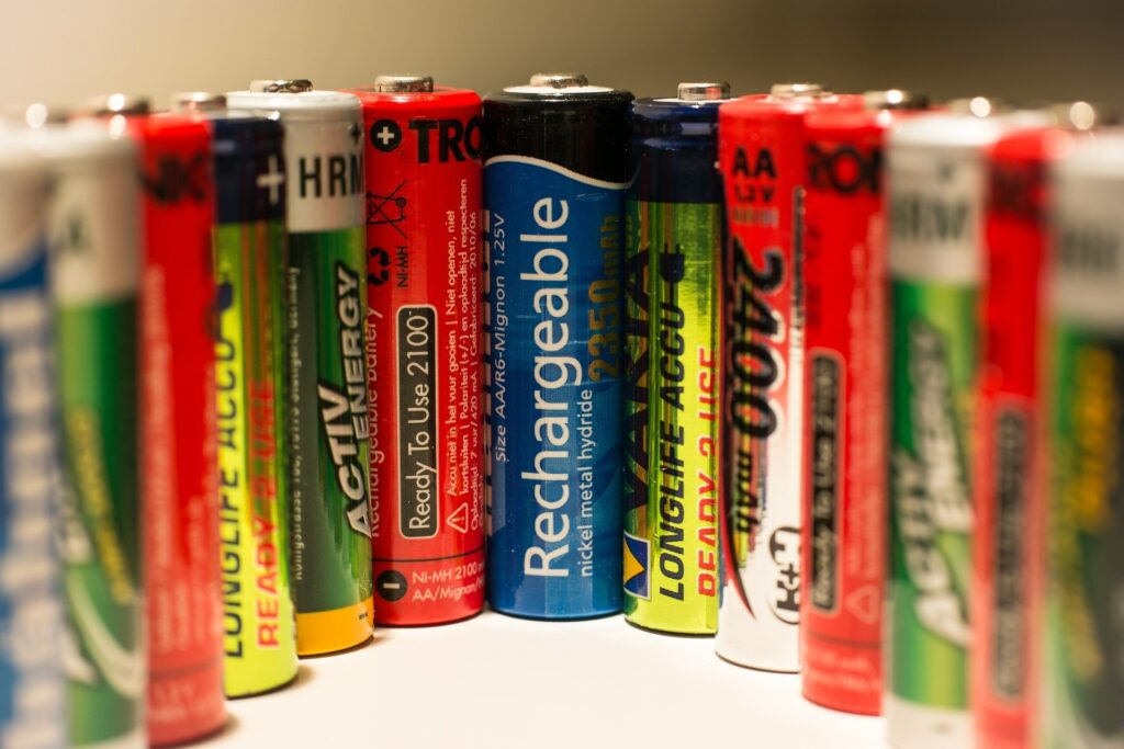 Rechargeable batteries and other batteries