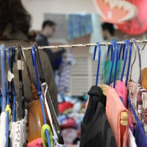 chairty shop selled preloved clothes