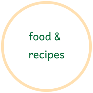 Food & recipes related blog posts as part of the top tips for an Eco-Conscious Lifestyle